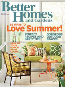 Better Homes and Gardens Cover July